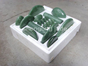 Jade Massage Set with Certificate