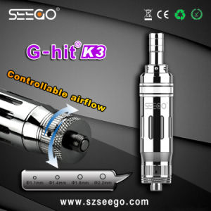 Seego G-Hit K3 Durable and Huge Vapor E Cigarette Atomizer for Normal Oil pictures & photos