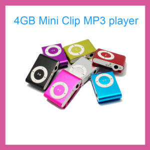 Mini Clip MP3 Player with 4GB-8GB Memory-Ly-P3001