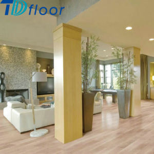 High Stain Commercial WPC Click Vinyl Floor Tile WPC Flooring pictures & photos