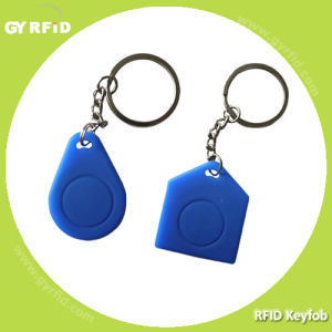 125kHz Em, 13.56MHz RFID Silicon Waterproof Keyfobs Key Card Tags pictures & photos
