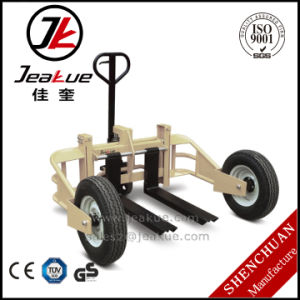 2017 Factory Price 1.0t Rough Terrain High Hydraulic Lifting Hand Pallet Truck pictures & photos