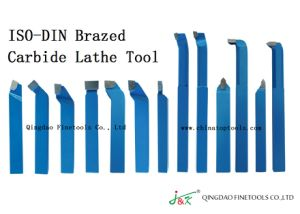 ISO DIN ANSI Brazed Carbide Tipped Lathe Tool Made in China pictures & photos