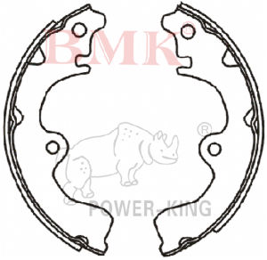 Good Price Brake Shoe (K2287) for Toyota pictures & photos