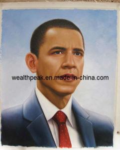 President Obama Oil Painting (PR040009)