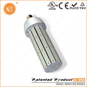 UL LED Corn Light 60W 6997lm, 360 Degree, Aluminum Fin Heat Sink pictures & photos