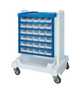 ABS Medicine Trolley Medicative Cart (SC-HF15) pictures & photos