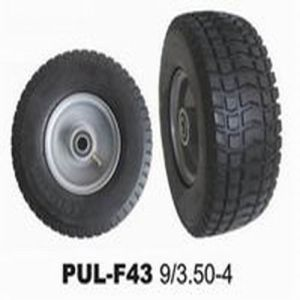 Black PU Lawn Mower Tire pictures & photos