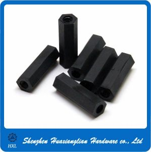 Female to Female Nylon Round Hexagon Connecting Coupling Nut Spacer pictures & photos