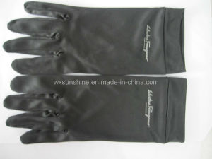 Microfiber Glove for Cleaning Watch (SG010) pictures & photos