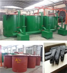 Charcoal Carbonization Furnace/ Charcoal Making Machine pictures & photos