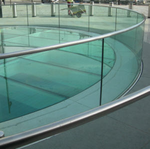 3 - 19mm Toughened Safety Glass Balustrade with Hot Stability pictures & photos