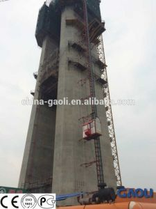 Hot Electric Powered Vertical Transportation Construction Elevator for Building pictures & photos