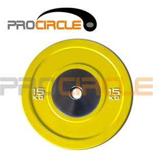 New Style Crossfit Olympic Competition Bumper Plate (PC-BP1023-1033) pictures & photos