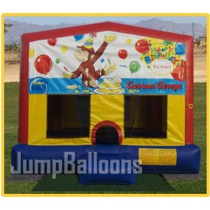 Bouncers, Castles, Curious George Theme Jumper, Inflatable Toys (J7015) pictures & photos