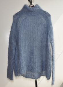 70%Mohair 30%Wool Soft Loose Knit Sweater Womens pictures & photos
