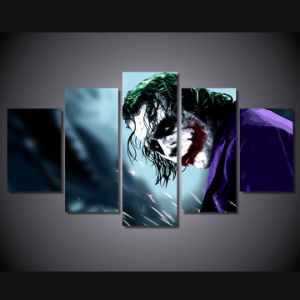 HD Printed Joker Pictures Painting Canvas Print Room Decor Print Poster Picture Canvas Mc-151 pictures & photos