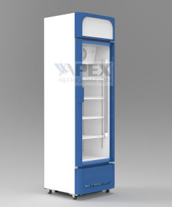 New Design 400L Vertical Showcase Cooler with Ce, CB, RoHS Approved pictures & photos