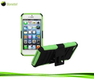 Super Combo Kickstand Case with Holster for iPhone 5 Green