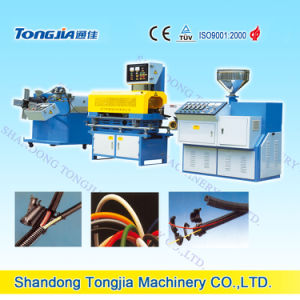 PP/PE/PA Single-Wall Corrugated Pipe Machine pictures & photos