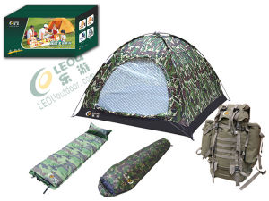 Outdoor Camo 2 People Camping Set (TZ-03-C)