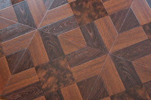 Laminated Parquet Flooring pictures & photos