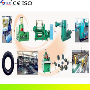 Environmental Butyl Motorcylce Inner Tube Making Line with CE, ISO pictures & photos