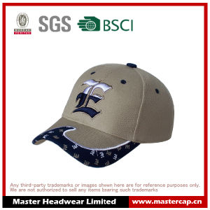 100% Cotton Baseball Cap with 3D Embroidered Logo pictures & photos