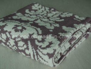Polyester Blanket, Knitted Blanket (PB-K0812) pictures & photos