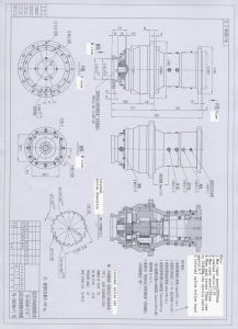 Vertical Mixer Planetary Gearbox