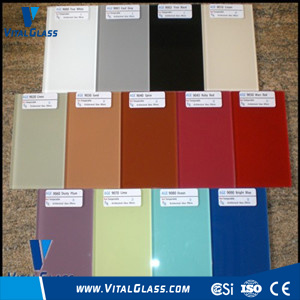 High Quality Colour Painted Glass with CE & ISO9001 pictures & photos