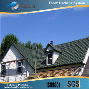 Aluminium Corrugated Steel Roofing Sheet (TD28-207-828) pictures & photos