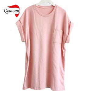 100% Cotton Women′s Summer T-Shirts (LW-002) pictures & photos