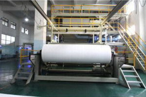 2.4m Single Beam PP Spun Bond Non Woven Fabric Making Machine pictures & photos