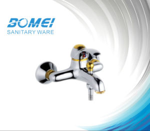 Popular Single Lever Gold Plating Bath Faucet (BM50201) pictures & photos