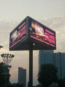 Indoor Outdoor DIP Fixed Install Advertising Rental LED Video Display Screen/Sign/Panel/Wall/Billboard pictures & photos