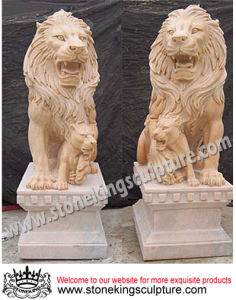 Marble Lion/ Stone Lion/ Marble Animals (SK-1871) pictures & photos