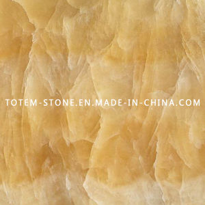 Natural Marble Stone Honey Yellow Onyx for Tile, Slab, Countertop pictures & photos