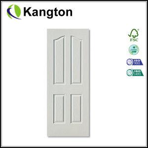 White Primer 4 Panels HDF Door Skin (door skin) pictures & photos