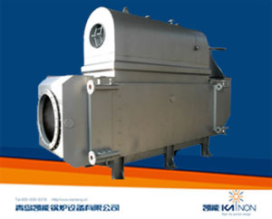 Horizontal Pin-Tube Exhaust Gas Boiler for 700/1000kw Generator