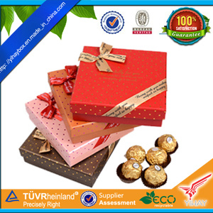 Customized Chocolate Packaging, Chocolate Gift Boxes for Valentine′s Day