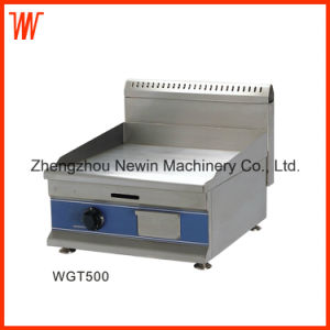 Stainless Steel Flat Top Gas Griddle for Sale pictures & photos