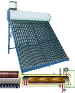 En12976 Certificate Compact Close Loop Solar Water Heater