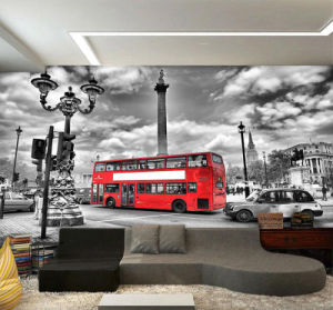 Custom Design High Quality Self Adhesive Wall Mural Chinese pictures & photos