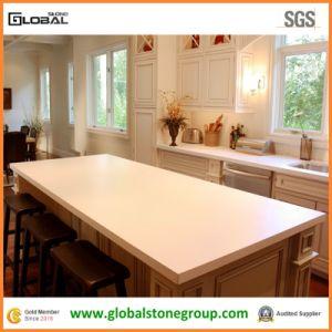 Silestone White Quartz Laminate Counter Tops and Island Tops