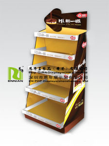 Chocolates Cardboard Display Rack Candy Pop Display