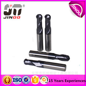 HRC60 2 Flutes Solid Carbide Ball Nose Mill Cutter for Cutting Metal pictures & photos