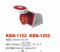 Industrial Plugs and Socket (KBN-1152: KBN-1252)