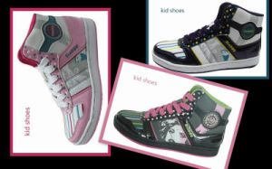 2010 New Design Girls Shoes (XH02091-2)