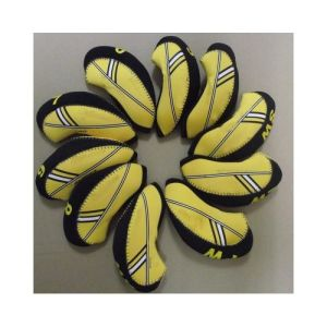 2013 Neoprene Golf Iron Cover, Yellow/Black Neoprene Golf Club Cover pictures & photos